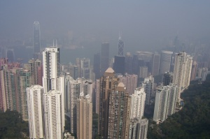 "Central Hong Kong from ""The Peak"""